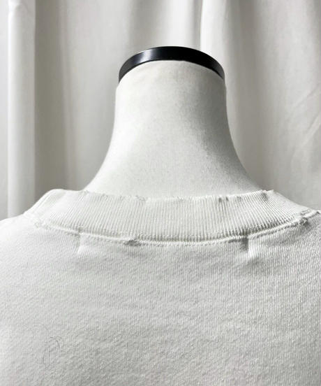 cropped sweatshirts(off white)