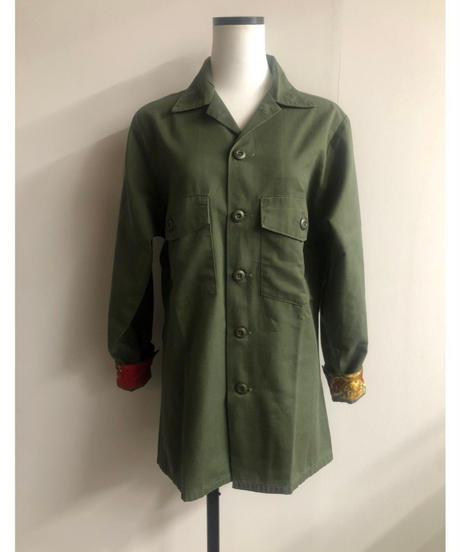 remake military jacket③