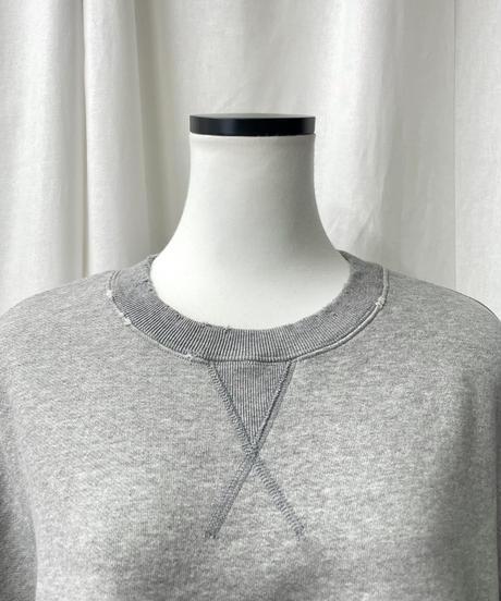 cropped sweatshirts(gray)