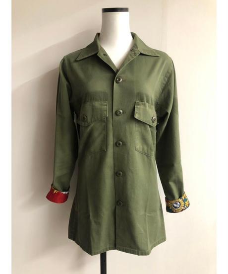 remake military jacket④