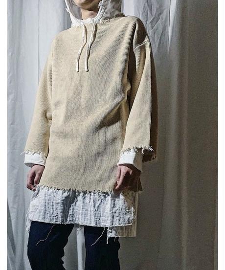 damage knit(ivory)