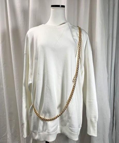 【special price】chain big sweat (white)