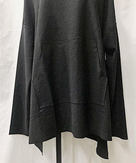 cut over tunic (black)