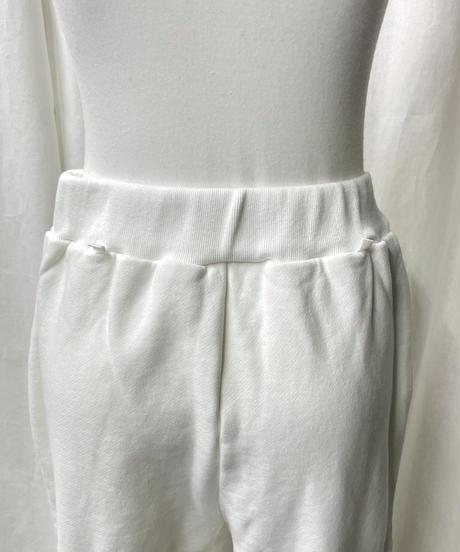 damage jogger pants(off white)