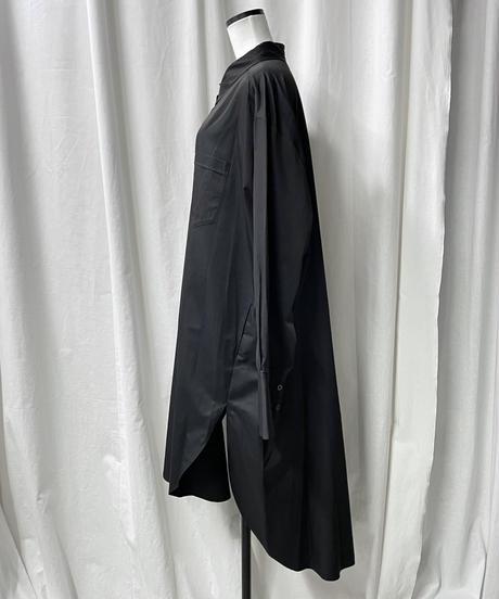 big shirts dress(black)