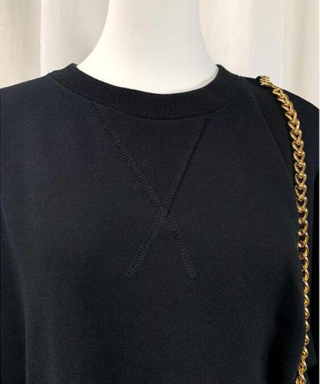 【special price】chain big sweat (black)