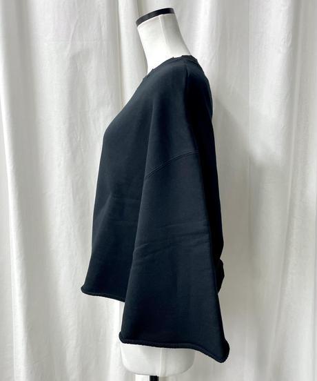 cropped sweatshirts(black)