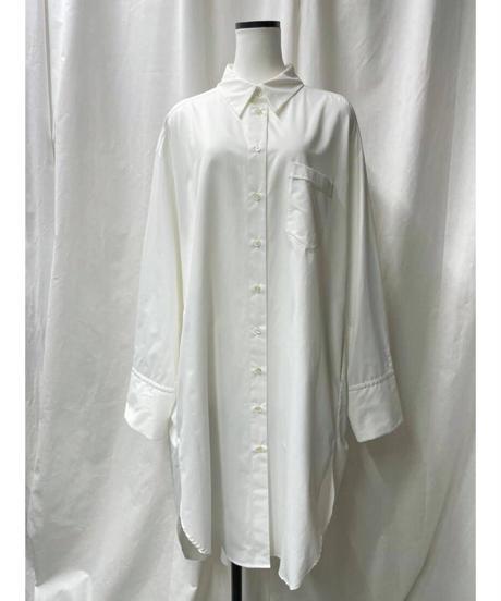 big shirts dress(offwhite)