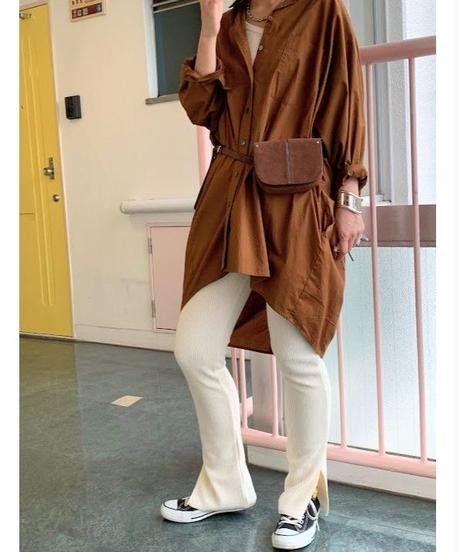corduroy touch leggings  (owh)