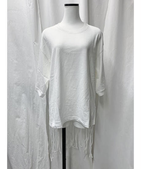 fringe Tee (off white)