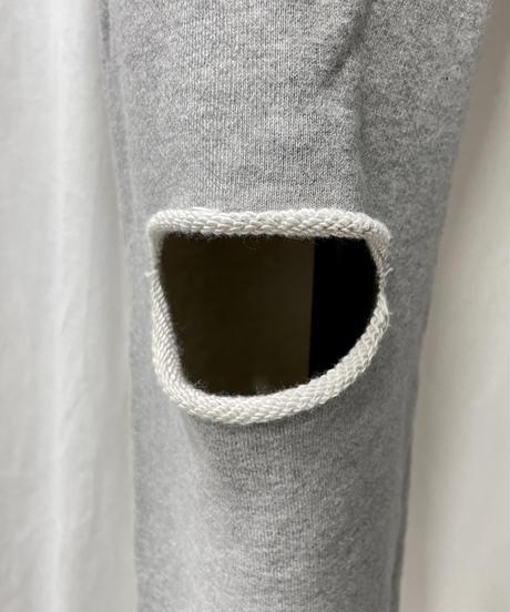 damage jogger pants(gray)