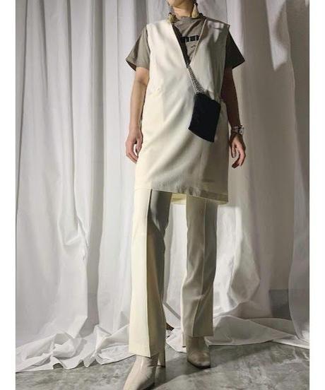 mini jumper skirt (ivory)