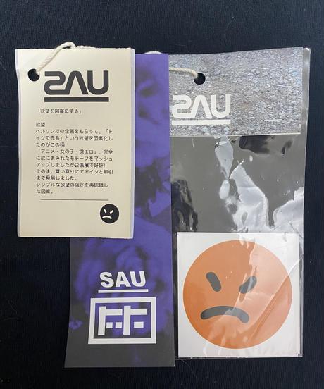 《SAU》欲望ロンT/black/Lサイズ (おまけステッカー2種類付き)