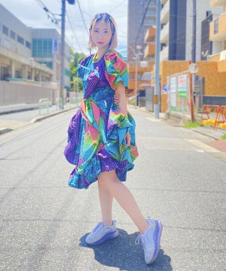 《 nothing nothing2》 Tanzanite Dress