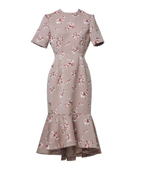 lady flower dress
