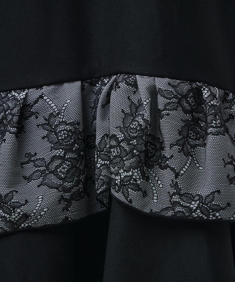 double frill corset skirt