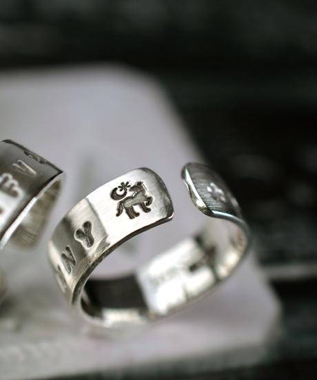 Farm Engrave Ring