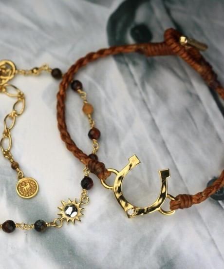 Diamond Horseshoe Bracelet