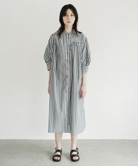 S002 [1] PAIR - Puff Sleeve Shirt Dress