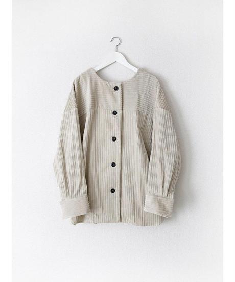 C003 [1] PAIR - Collarless Shirt Jacket