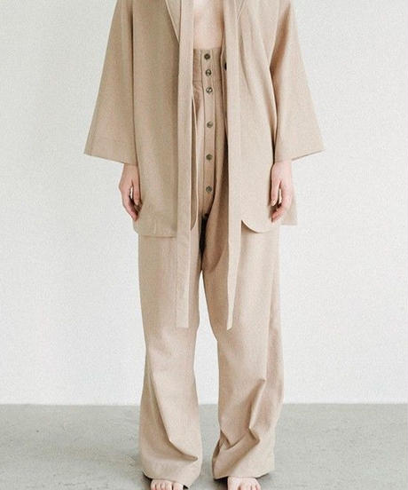 P001(SS)  [1] PAIR - Wide Trousers