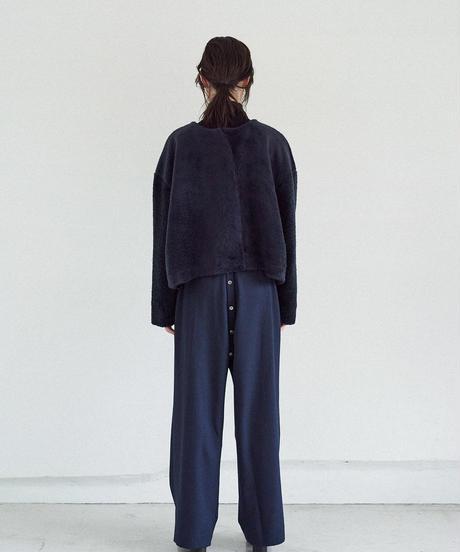 C004 [1] PAIR - Collarless Short Coat