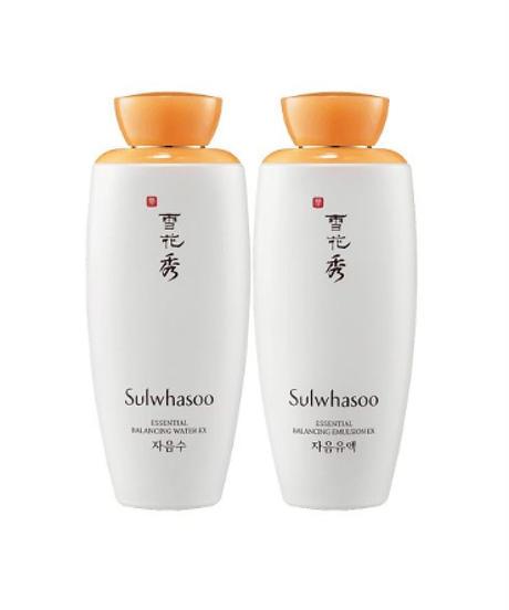 夏桜*ソルファス:滋陰(ジャウム)2種セット(化粧水+乳液+旅行セット)★送料無料