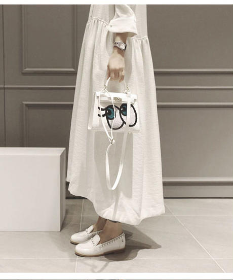 夏桜*レトロ ロング スカート ワンピース コットンリネン ホリデーカジュアルワンピース ns190703-30
