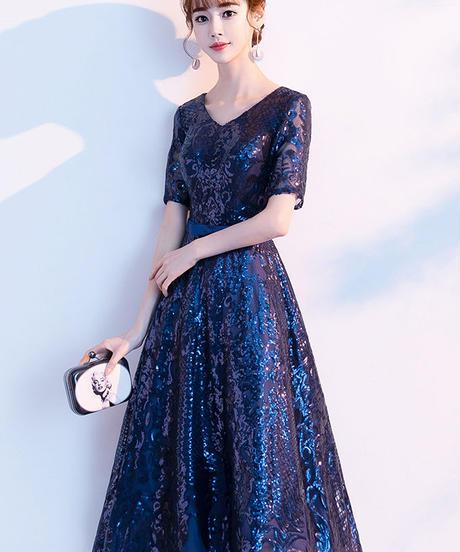 夏桜*エレガント ドレス 披露宴 二次会 パーティードレス ns190823-45