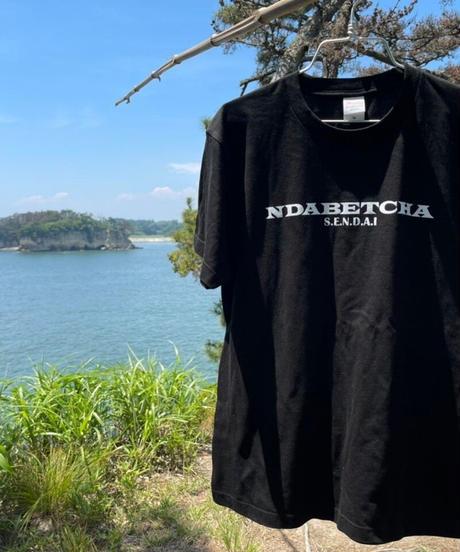 NDABETCHA Tシャツ(ブラック)