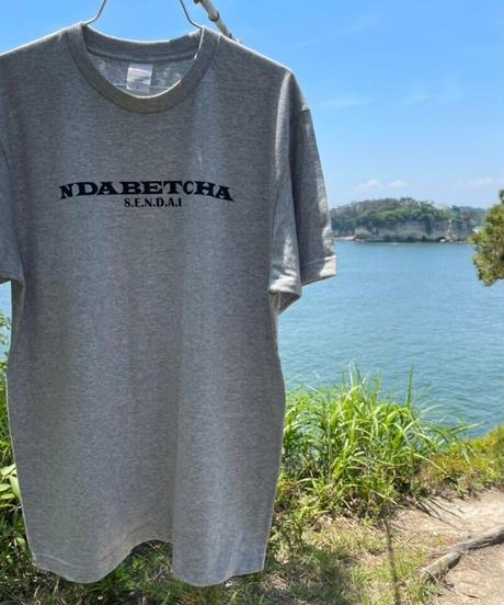 NDABETCHA Tシャツ(杢グレー)