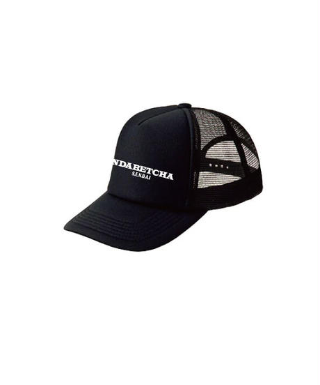 NDABETCHA メッシュキャップ(ブラック)