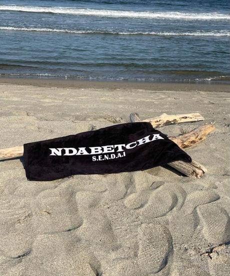 NDABETCHA フェイスタオル(ブラック)