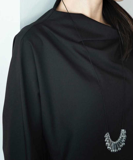 SIRI SIRI | EXCAVATION Necklace Moi - NOIR / ネックレス 限定カラー黒