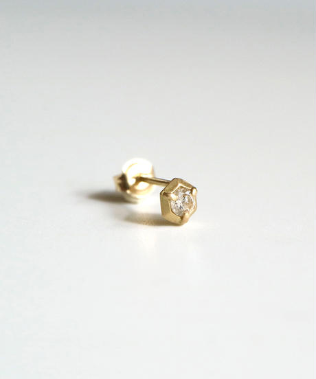 ma-products | six diamond pierced earring