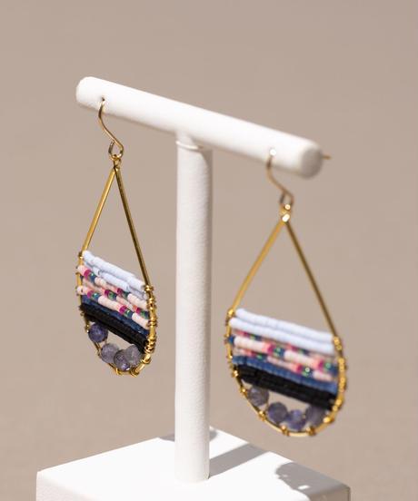Kui Co.| Signature Earrings フローラル