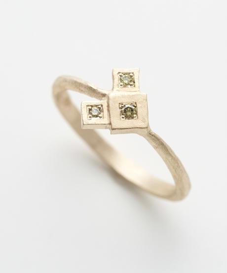 cherrybrown   gold ring