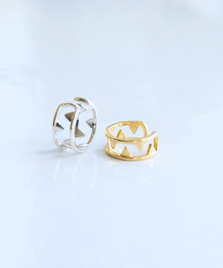 DoubleMoon Jewelry   jaws風イヤーカフ