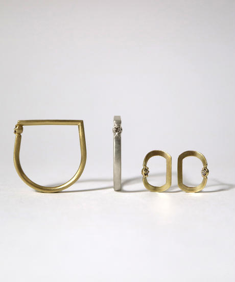 ma-products | FOR ME pierced earrings gold