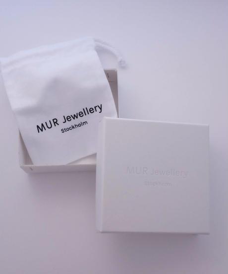 MUR Jewellery I Palette Earrings Round shiny silver