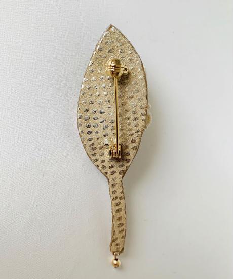 kaori shimomura | brooch Muguet