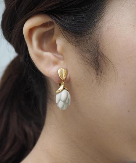 PLANT/PLANT | Artichoke clip-on Earrings