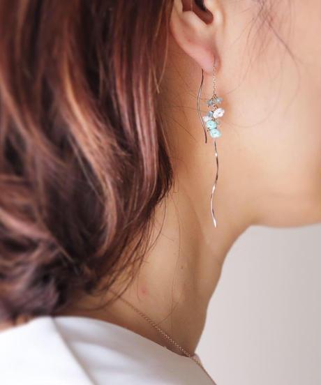 Selieu | Nano aqua Earrings