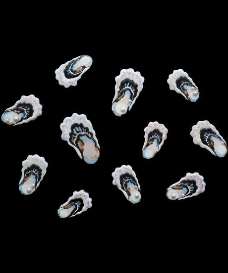 arie:chroma   oyster brooch M パールなし