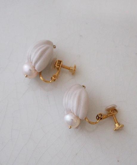 PLANT/PLANT Pearl bud Earrings