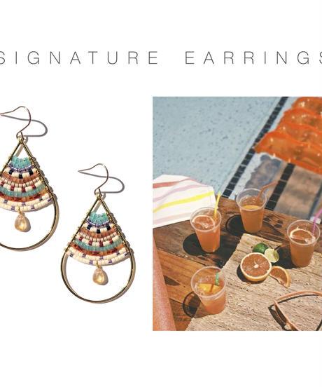 Kui Co.  Signature Earrings シシリアンサマー