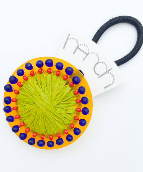 hArch |  hair tie   clear orange × yellow green