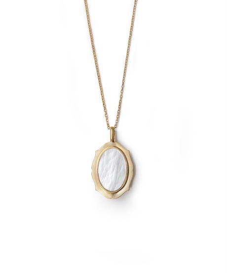 jaren | frame necklace_oval