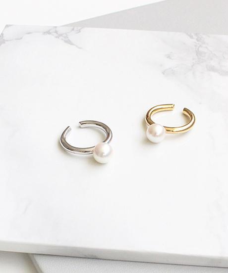 plus.jewel | pearl ring & cuff