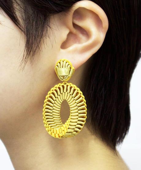 CHIKAKO YAJIMA   Mobius Clip on Earrings